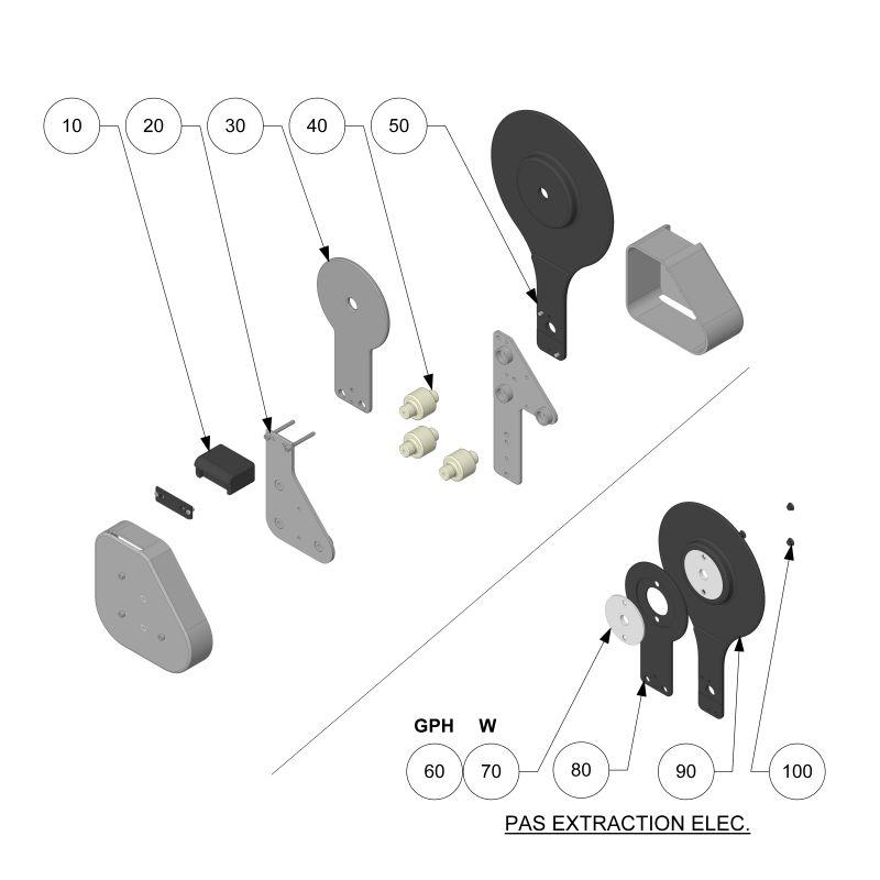 810XE/XER EXTRACTION