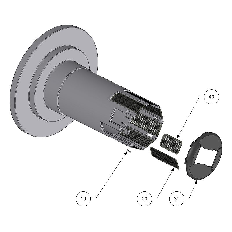 ULTRA SOURCE MOUNTING FLANGE